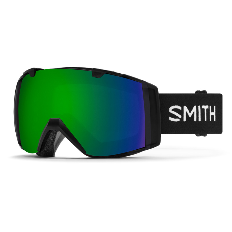 I/O Goggle - Black - CP Sun Green Mirror