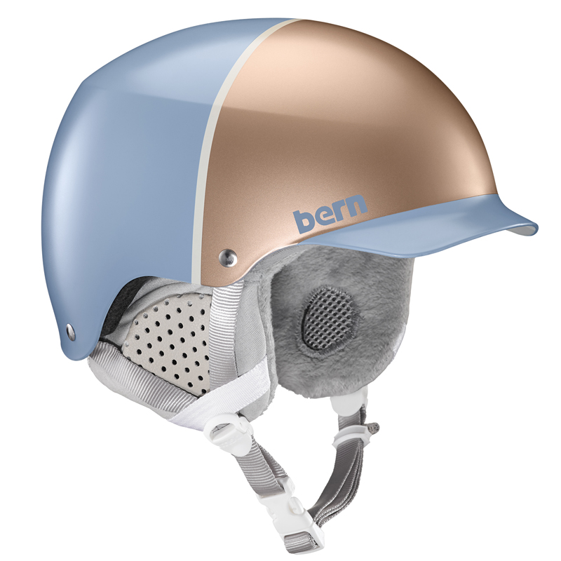 Bern Muse Women's Helmet - Satin Ice Blue