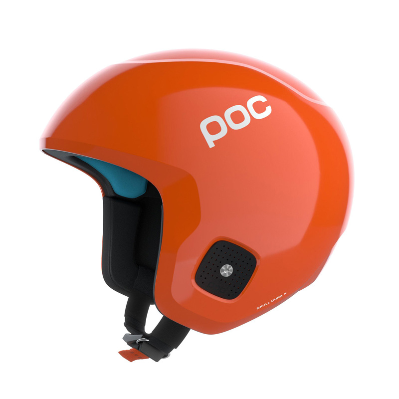 Skull Dura X SPIN Race Helmet - Fluorescent Orange