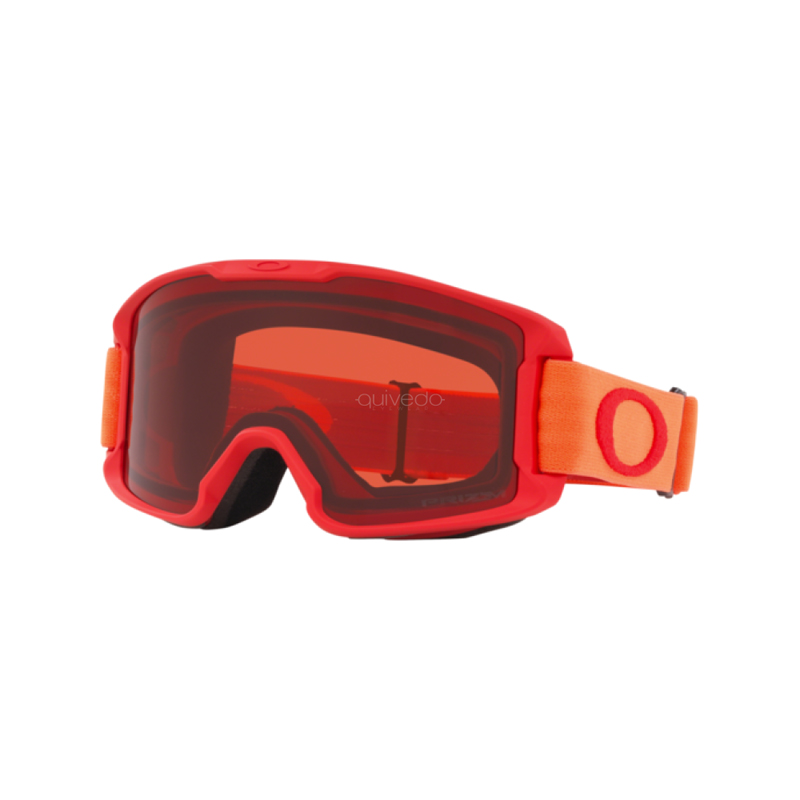 Line Miner Youth Goggle - Red Neon Orange